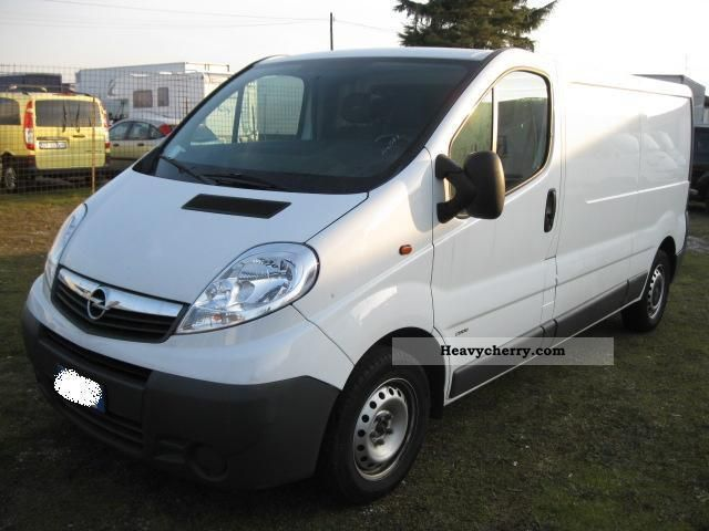 opel vivaro 2009 box type delivery van long photo and specs. Black Bedroom Furniture Sets. Home Design Ideas