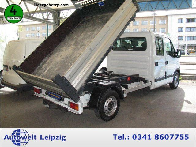 2007 Opel  Movano 2.5 CDTI DOKA 3-way tipper AIR Van or truck up to 7.5t Tipper photo