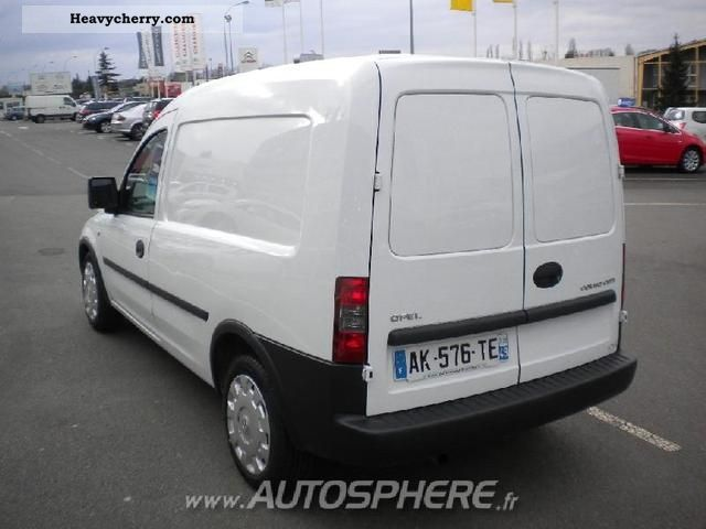 opel combo pack cargo 1 3cdti 2010 box type delivery van. Black Bedroom Furniture Sets. Home Design Ideas