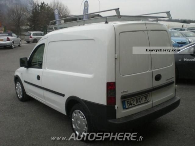 opel combo pack cargo 1 3cdti 2008 box type delivery van photo and specs. Black Bedroom Furniture Sets. Home Design Ideas