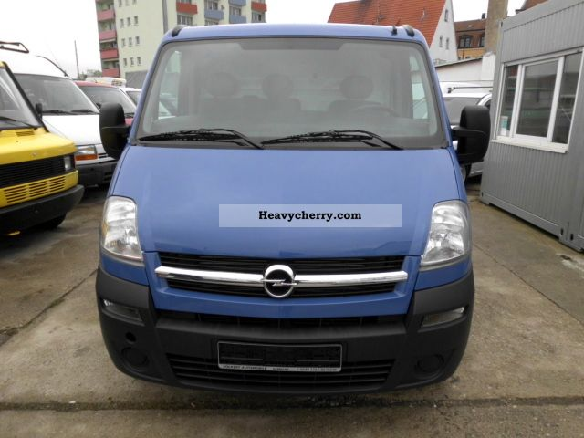 opel movano 2 5 tdci 2008 box type delivery van photo and specs. Black Bedroom Furniture Sets. Home Design Ideas