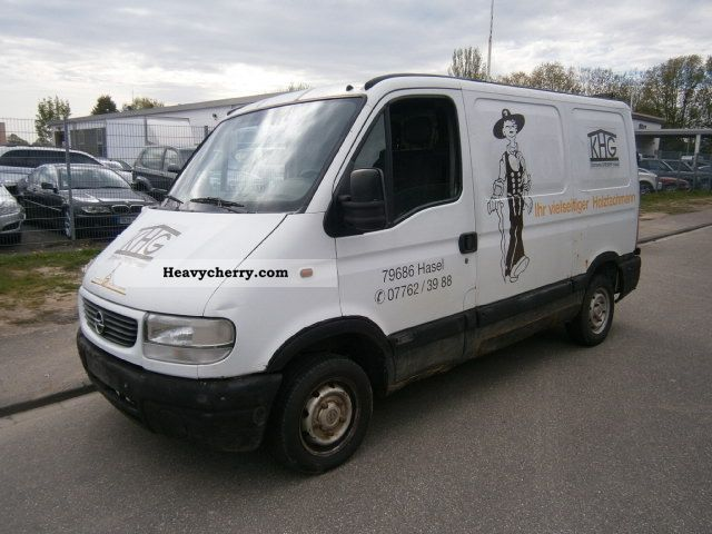 1999 Opel  Movano Van or truck up to 7.5t Box-type delivery van photo