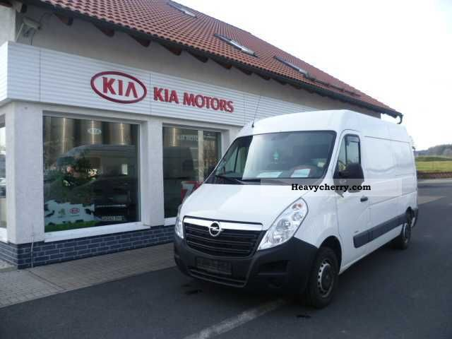 2011 Opel  Movano Van or truck up to 7.5t Other vans/trucks up to 7 photo