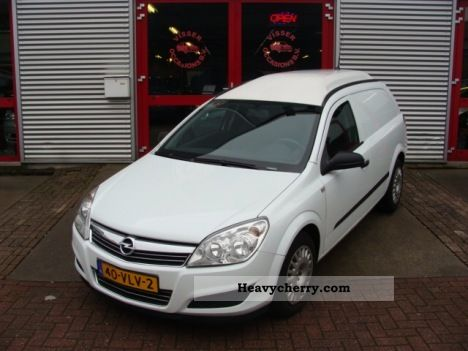 2008 Opel  Astra-H VAN Z17DTH NAVI AIRCO Van or truck up to 7.5t Other vans/trucks up to 7 photo