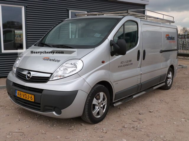 opel vivaro l2h1 2 5cdti 2007 other vans trucks up to 7 photo and specs. Black Bedroom Furniture Sets. Home Design Ideas