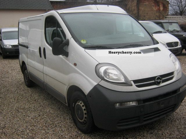 opel vivaro 1 9 dti climate net 6 300 2006 box type delivery van photo and specs. Black Bedroom Furniture Sets. Home Design Ideas