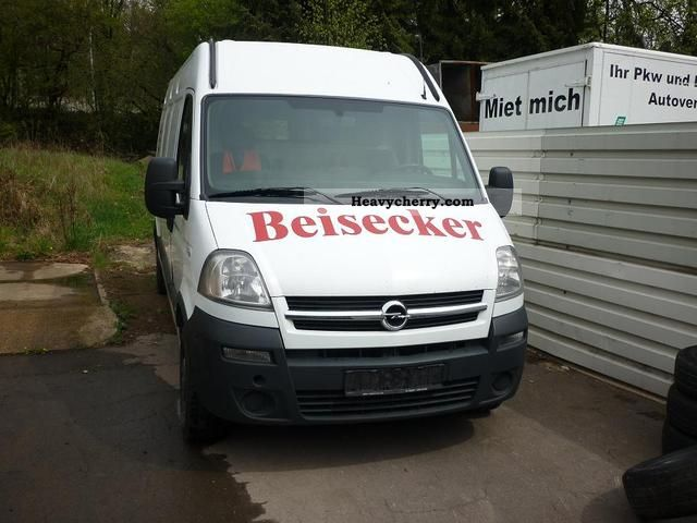 2006 Opel  Movano Van or truck up to 7.5t Box-type delivery van - high and long photo