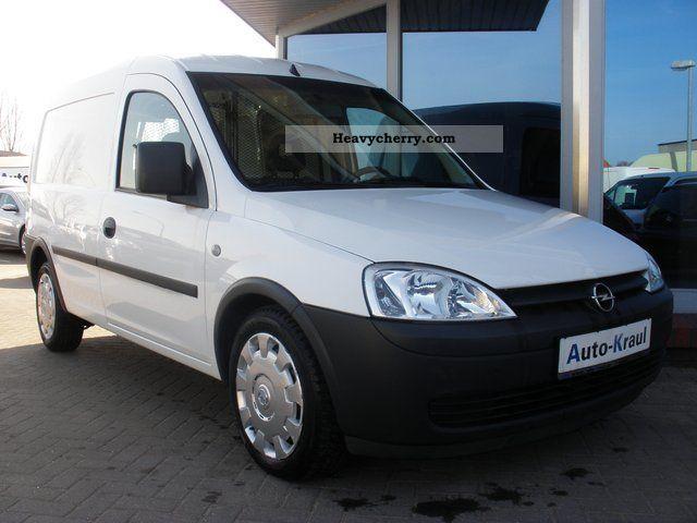 2007 Opel  1,3 CDTI Combo Box, DPF, rear wing doors in last Van or truck up to 7.5t Box-type delivery van photo