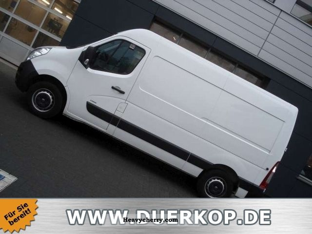 2011 Opel  Box 2.3 CDTI Movano L2H2 climate Van or truck up to 7.5t Box-type delivery van photo