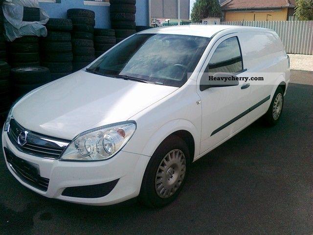 2008 Opel  Astra 1,7 CDTI 101PS VAN AIR 6GANG Exp4499 Van or truck up to 7.5t Box-type delivery van photo