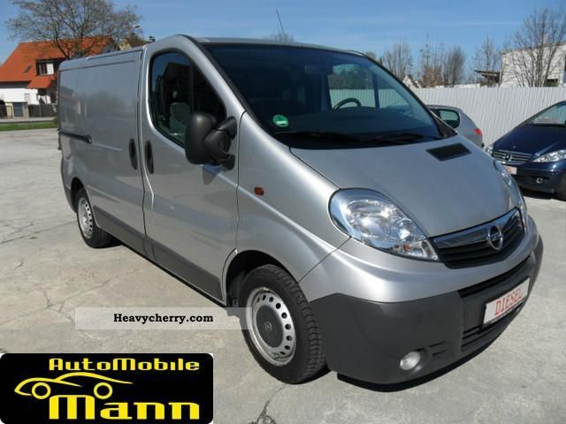 opel vivaro 2 0 cdti 2007 other vans trucks up to 7 photo and specs. Black Bedroom Furniture Sets. Home Design Ideas