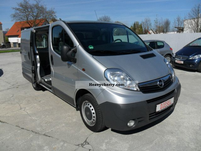 opel vivaro 2 0 cdti 2007 box type delivery van photo and. Black Bedroom Furniture Sets. Home Design Ideas
