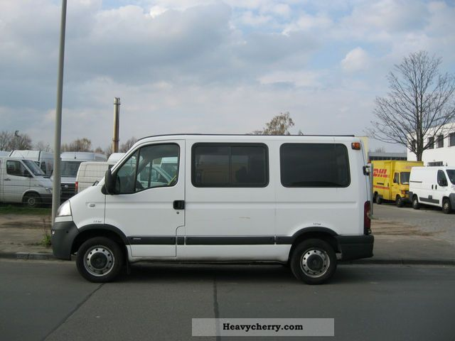 2005 Opel  Movano Van or truck up to 7.5t Estate - minibus up to 9 seats photo