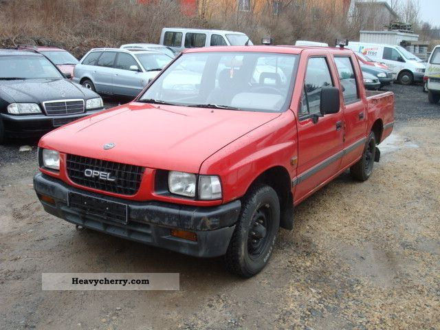 opel campo pick up 4x2 1993 stake body truck photo and specs. Black Bedroom Furniture Sets. Home Design Ideas