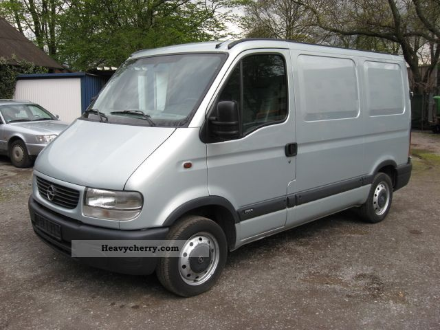 opel movano 2 2 dti first hand checkbook 2002 box type delivery van photo and specs. Black Bedroom Furniture Sets. Home Design Ideas