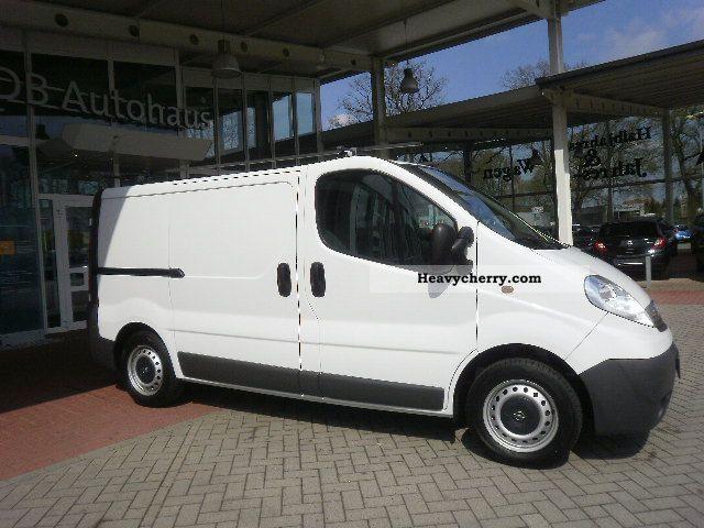 2008 Opel  2.0 CDTI Vivaro L1H1 box APC / EASP / EFH / ZVmFB Van or truck up to 7.5t Box-type delivery van photo