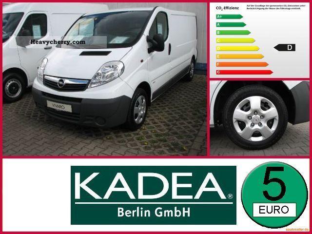 2011 Opel  2.0 CDTI Vivaro L2H1 panel vans Van or truck up to 7.5t Box-type delivery van photo