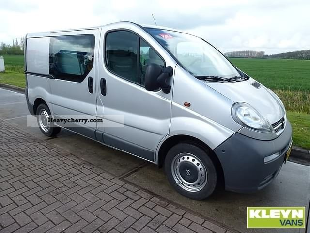 opel vivaro 1 9 cdti 2006 box type delivery van photo and specs. Black Bedroom Furniture Sets. Home Design Ideas