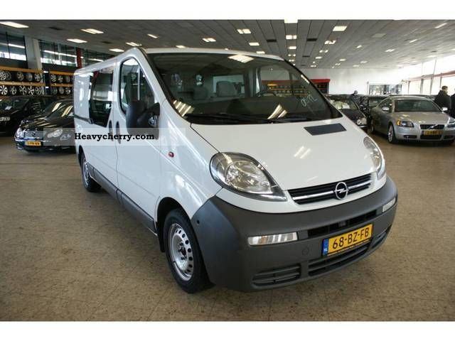 opel vivaro 1 9 cdti l2h1 2006 other vans trucks up to 7 photo and specs. Black Bedroom Furniture Sets. Home Design Ideas