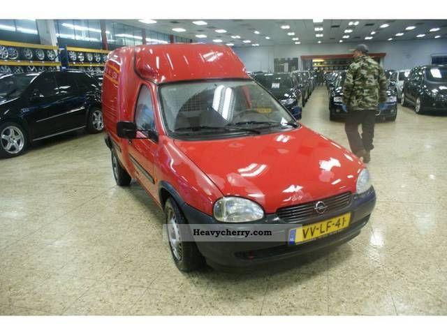 1998 Opel  1.7 D Combo Van or truck up to 7.5t Box-type delivery van photo