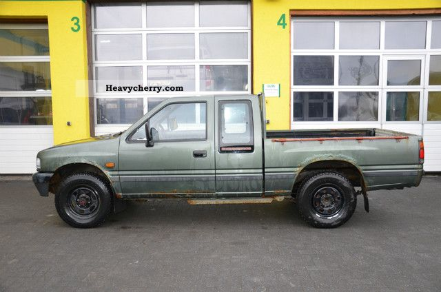 opel campo pick up 2 5d 4x4 sportscap 1993 stake body. Black Bedroom Furniture Sets. Home Design Ideas