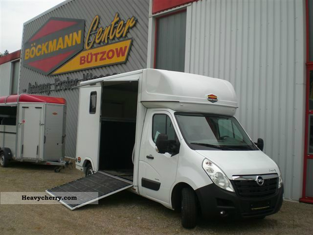 2012 Opel  Horse truck for 1 - 2 horses Van or truck up to 7.5t Cattle truck photo