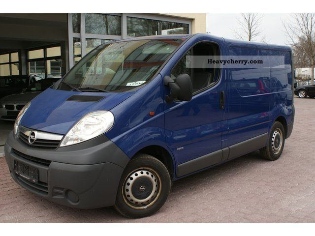 opel vivaro cdti l1h11 2007 box type delivery van photo and specs. Black Bedroom Furniture Sets. Home Design Ideas