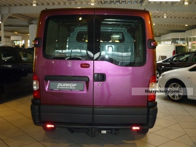 Opel Movano L1h1 2 5cdti Box 2008 Box Type Delivery Van
