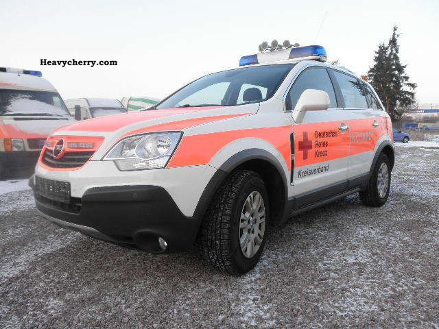 2007 Opel  Antara ambulance squad cars hammer price Van or truck up to 7.5t Ambulance photo