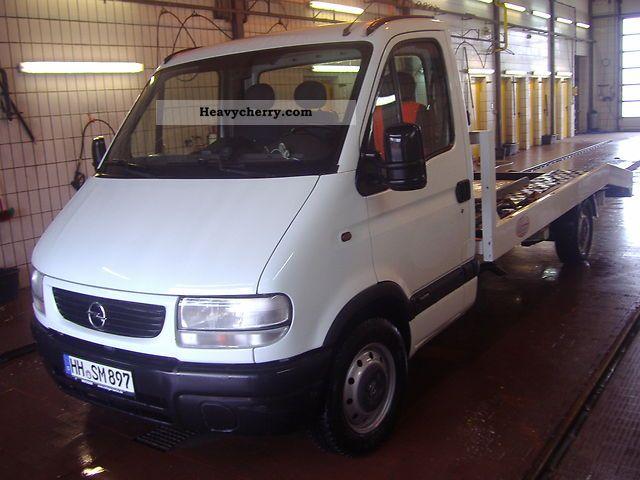 2002 Opel  Movano 2.8 DTI Van or truck up to 7.5t Breakdown truck photo