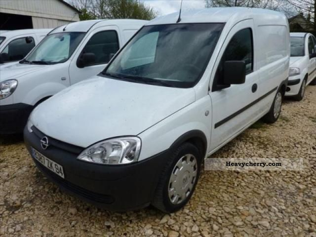 opel combo 1 3cdti cargo pack clim 2008 box truck photo and specs. Black Bedroom Furniture Sets. Home Design Ideas