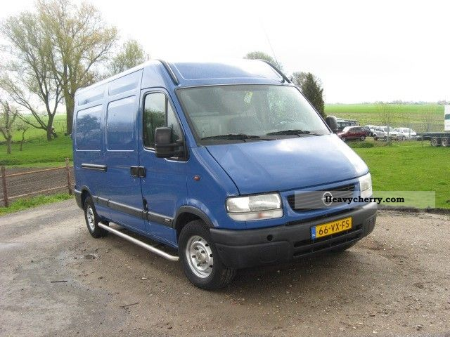 opel movano l2h2 2001 box type delivery van photo and specs. Black Bedroom Furniture Sets. Home Design Ideas