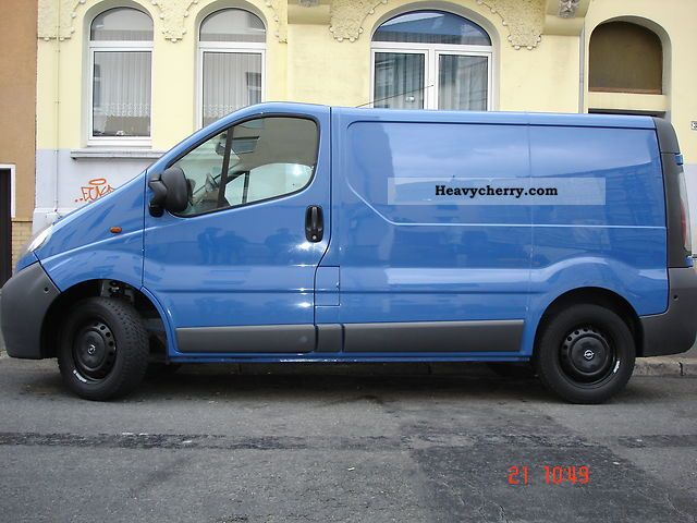opel vivaro 2005 other vans trucks up to 7 photo and specs. Black Bedroom Furniture Sets. Home Design Ideas