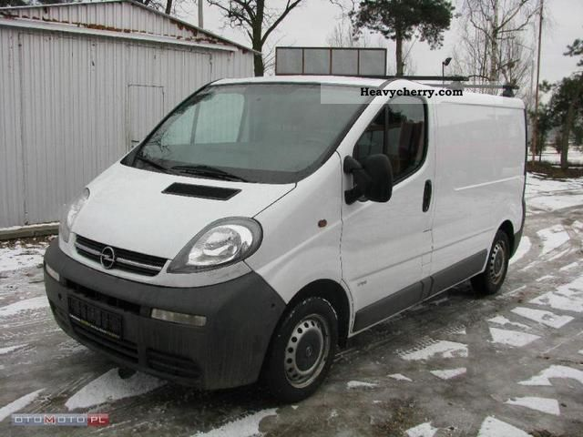 opel vivaro 2003 other vans trucks up to 7 photo and specs. Black Bedroom Furniture Sets. Home Design Ideas