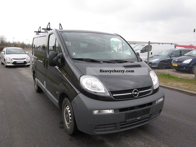 opel vivaro 1 9 cdti 100 l1h1 2006 other vans trucks up to 7 photo and specs. Black Bedroom Furniture Sets. Home Design Ideas