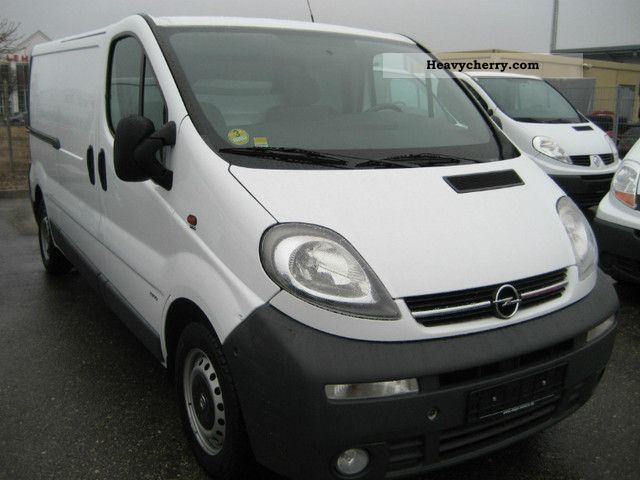 opel vivaro 1 9 cdti l2h1 air shz zv 2006 box type delivery van long photo and specs. Black Bedroom Furniture Sets. Home Design Ideas