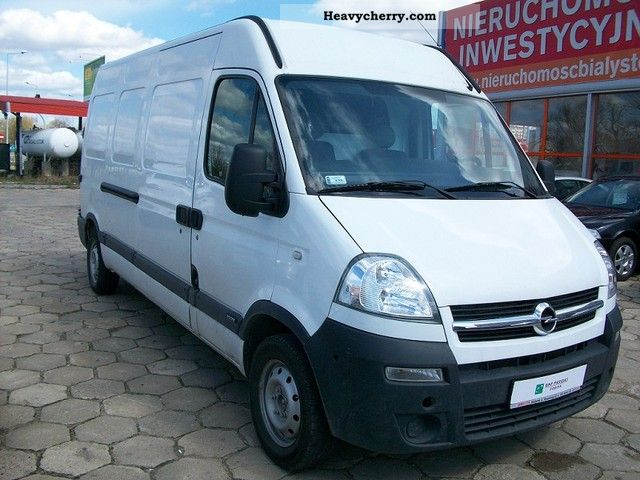 2004 Opel  Movano Van or truck up to 7.5t Other vans/trucks up to 7 photo