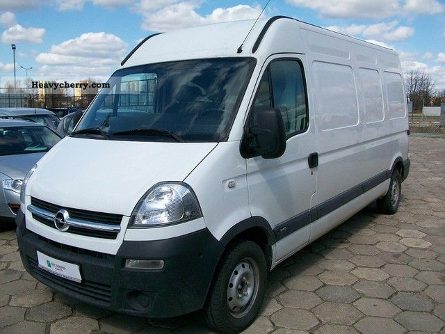 opel movano 2004 other vans trucks up to 7 photo and specs. Black Bedroom Furniture Sets. Home Design Ideas