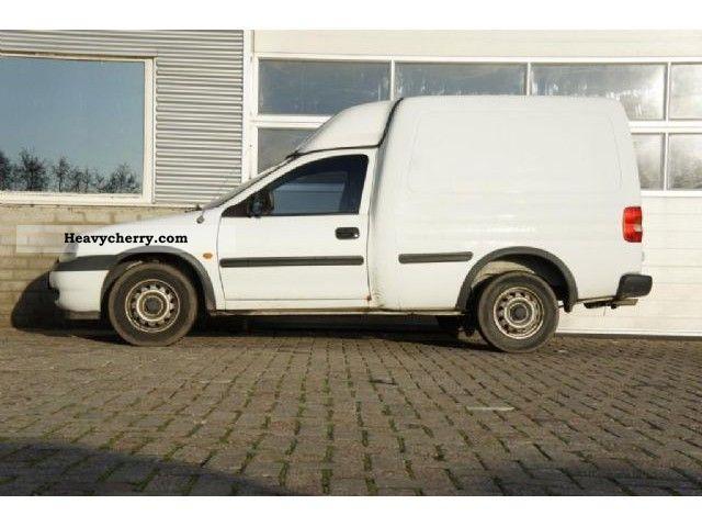 2000 Opel  1.7 D Combo Van or truck up to 7.5t Box-type delivery van photo