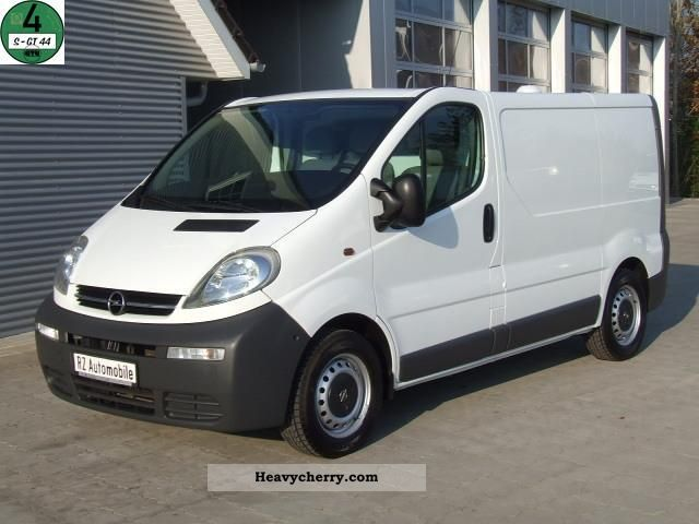 opel vivaro 1 9 cdti 3 seaters top shelves only 62tkm 2005 box type delivery van photo and specs. Black Bedroom Furniture Sets. Home Design Ideas