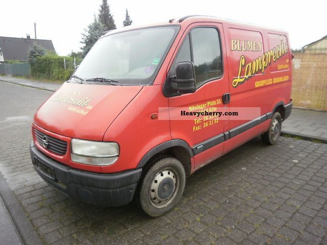 opel movano 1 hand 2001 box type delivery van photo and specs. Black Bedroom Furniture Sets. Home Design Ideas