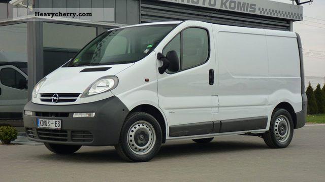 opel vivaro 1 9 cdti 101 km 2002 other vans trucks up to 7 photo and specs. Black Bedroom Furniture Sets. Home Design Ideas
