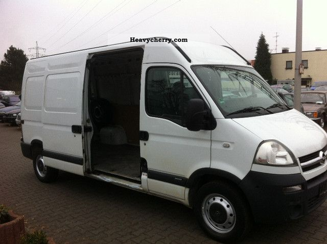 2008 Opel  Movano 2.5 CDTI engine L2H2 * exchange * 110TKM Van or truck up to 7.5t Box-type delivery van - high and long photo