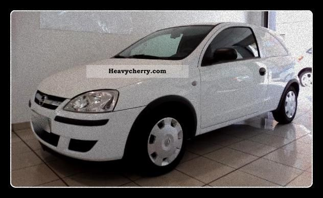 opel corsa 1 3 cdti van c 2006 box type delivery van photo and specs. Black Bedroom Furniture Sets. Home Design Ideas