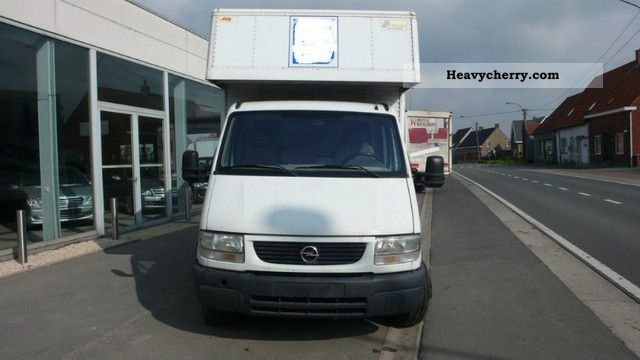 2002 Opel  MOVANO Van or truck up to 7.5t Box photo