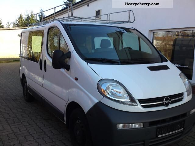 opel vivaro 1 9 cdti 2006 other vans trucks up to 7 photo and specs. Black Bedroom Furniture Sets. Home Design Ideas