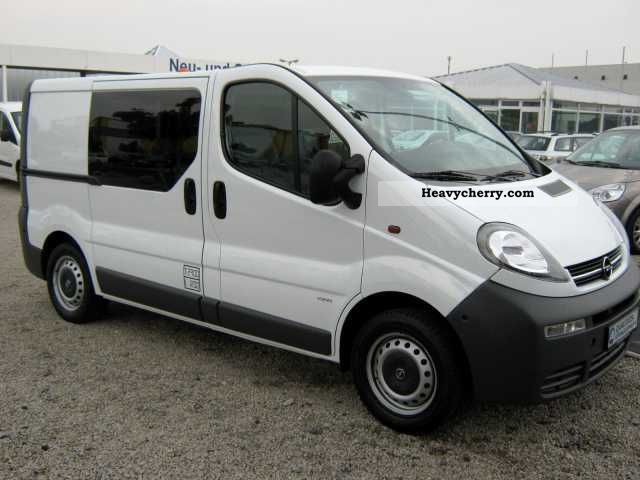 opel vivaro 1 9 dti cdti l1h1 2 9 t 2005 box type delivery van photo and specs. Black Bedroom Furniture Sets. Home Design Ideas