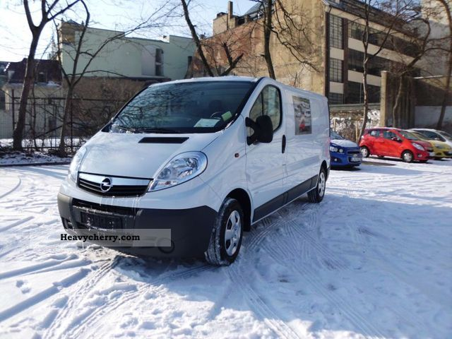 2012 Opel  2.0 CDTi Vivaro L1H1 box 90 HP Professional Package, E Van or truck up to 7.5t Box-type delivery van photo