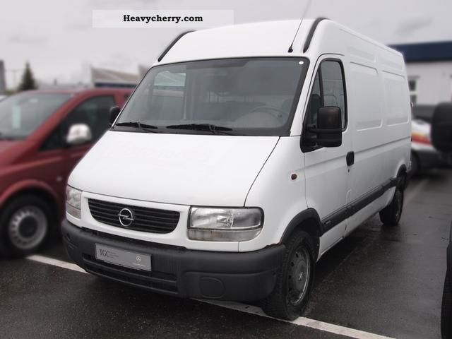opel movano 2 8 dti l2h2 box high ahk 2001 box type delivery van photo and specs. Black Bedroom Furniture Sets. Home Design Ideas