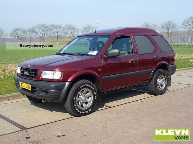1999 Opel  Frontera 2.2DTH VAN Van or truck up to 7.5t Box-type delivery van photo